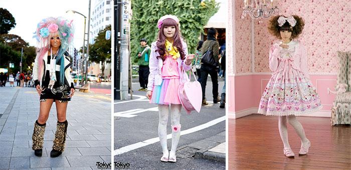 Японская молодежная мода baby doll
