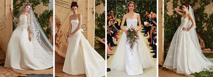 Свадебные платья Каролины Эррера