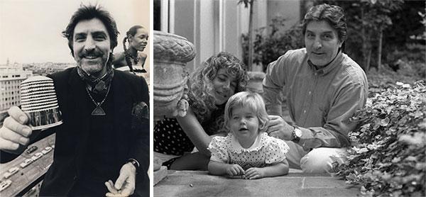 Эмануэль Унгаро и его семья