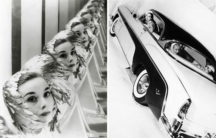 Одри Хэпберн, съемки для модного журнала