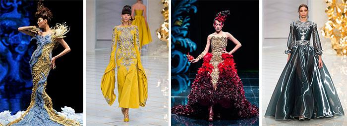 Guo Pei различные коллекции