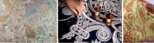 Guo Pei детали вышивки