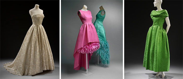 Живанши, платья разных лет