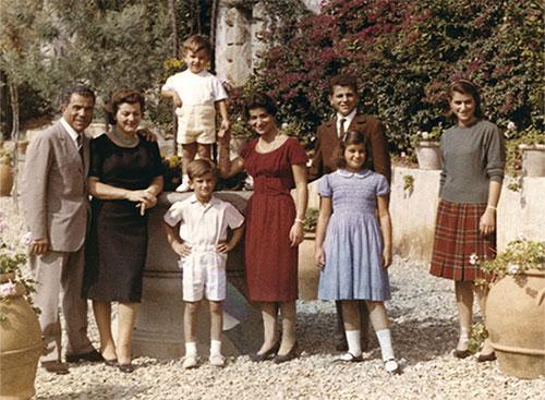 Семья Сальваторе Феррагамо