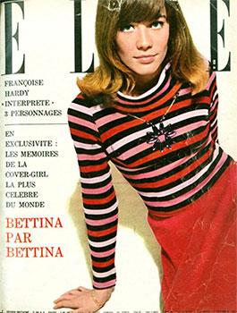 Обложка Elle-1962 со свитером Сони Рикель